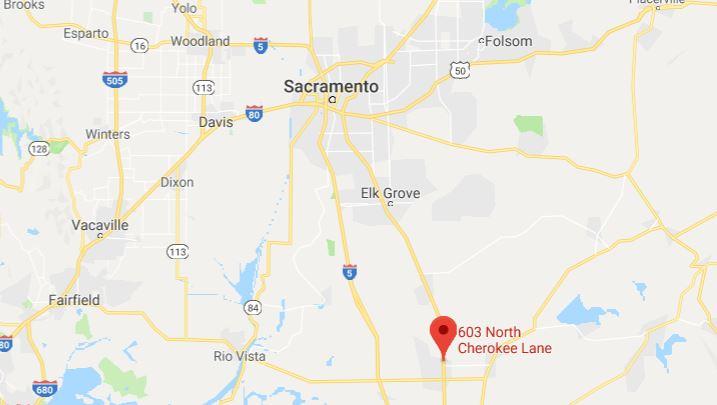 Location El Rancho Motel Lodi California